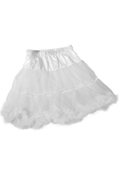Dirndl Unterrock als Petticoat mit Tüll