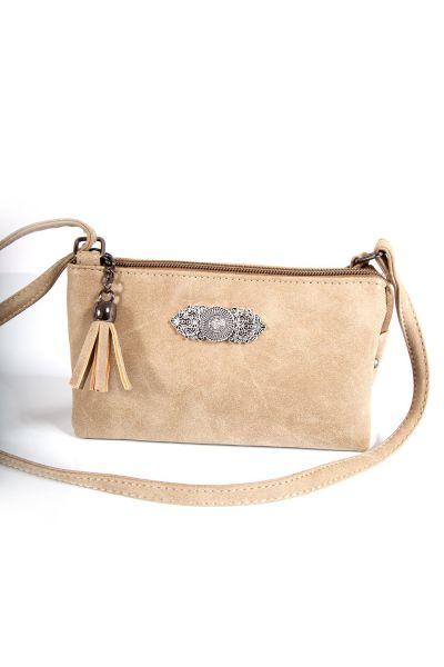 Trachtentasche beige klein