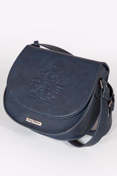 Trachtentasche dunkelblau zum umhängen