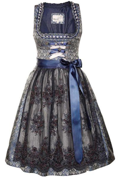 Mini Dirndl Fenza Glamour in dunkelblau