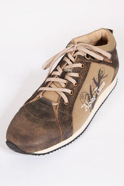 new product 5dee3 8e3c5 Trachten Sneaker Alpine Team bison