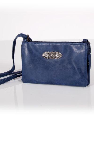 Kleine Trachtentasche in dunkelblau zum umhängen