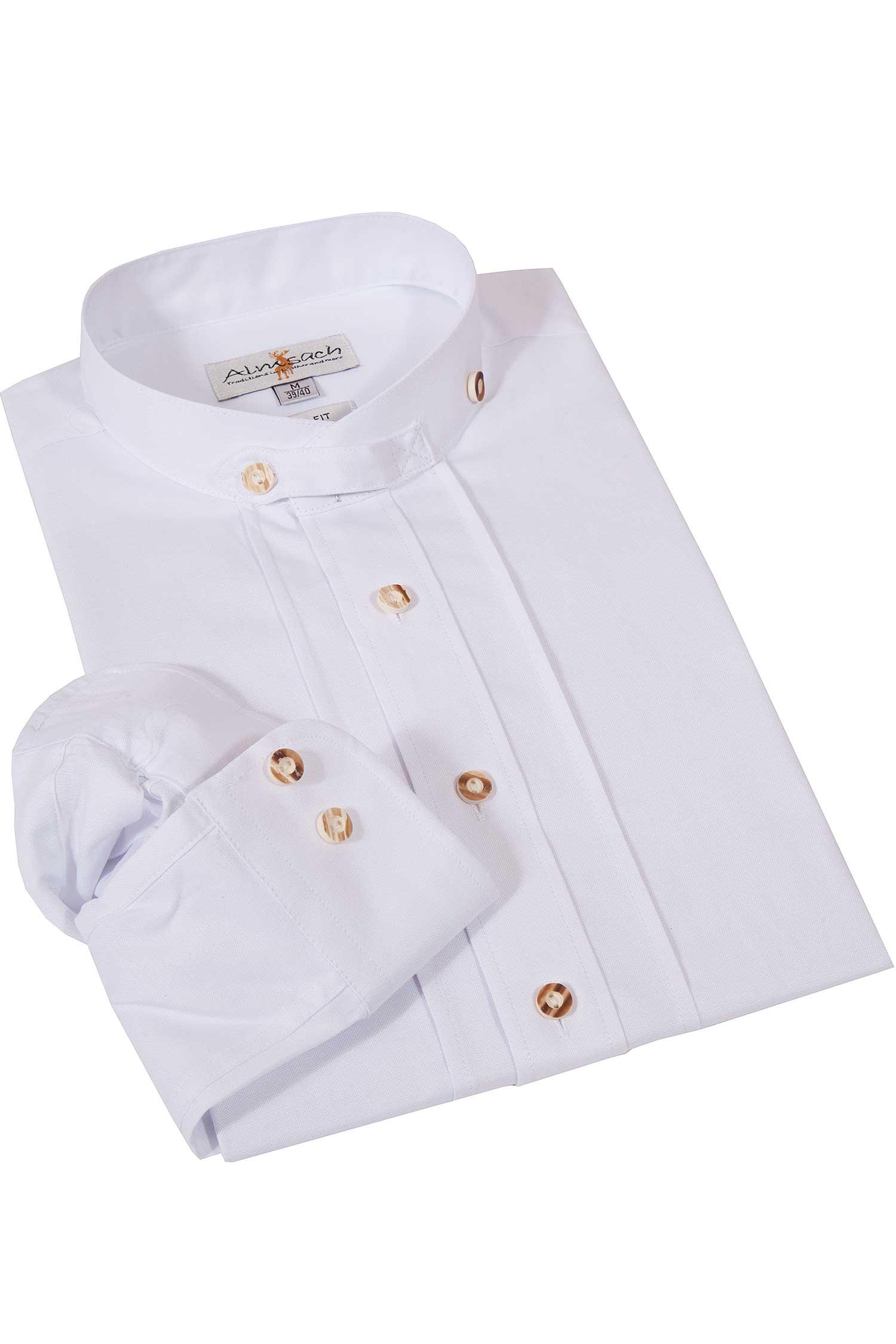 OS Tracht versch Kinder Trachtenhemd weiß Größen Krempelarm