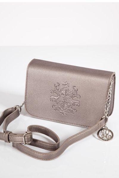 Trachtentasche mit Prägung in bronze