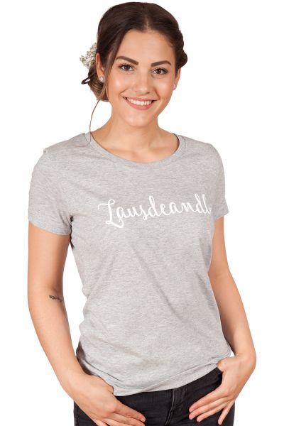 Damen Trachten Shirt in grau Lausdeandl