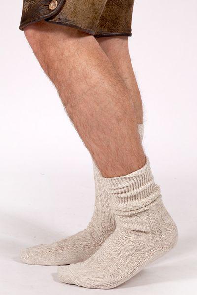 Herren Trachten Socken in natur