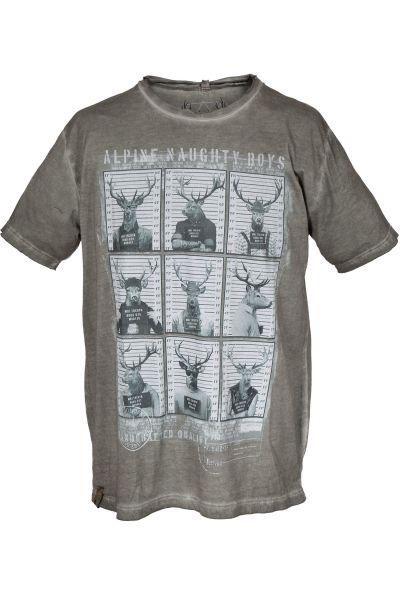 Trachten T-Shirt Naughty Boys
