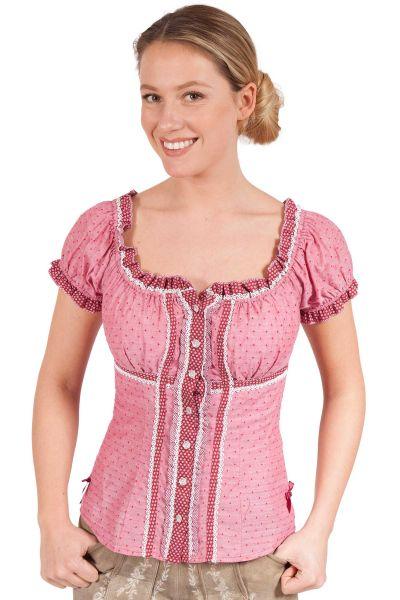 Damen Trachten Bluse in rot von Krüger Madl
