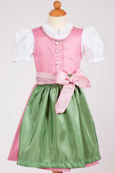 Baby & Kleinkind Dirndl Joelina in rosa und grün