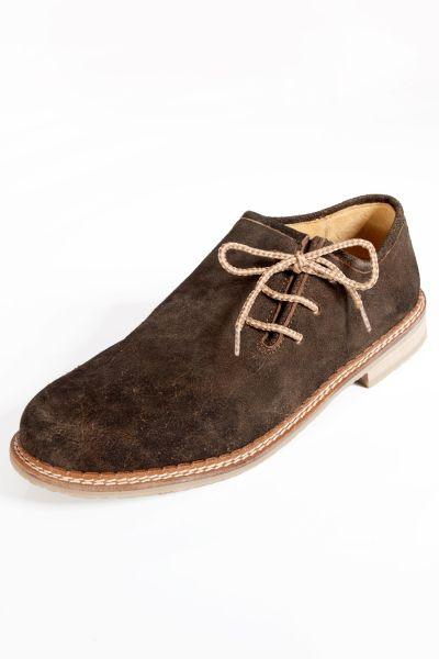 Trachten Schuhe in dunkelbraun von Stockerpoint