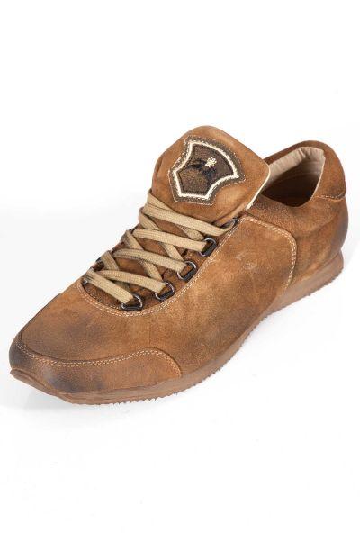 Herren Trachten Sneaker Loffeld in braun antik