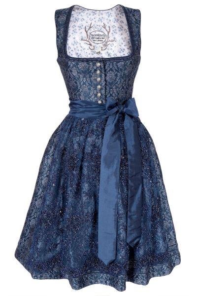 Tramontana Dirndl Glamour in dunkelblau