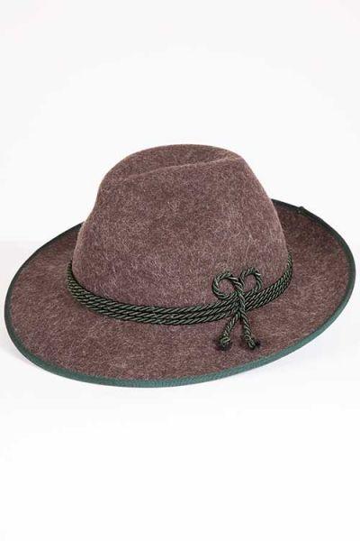 Herren Trachtengut Werdenfelser Hut in braun