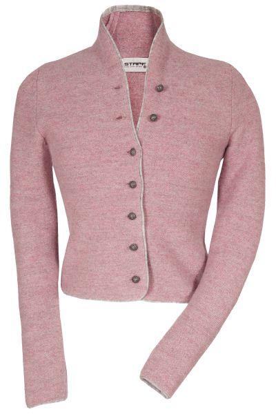 Trachten Strickjacke Dorika in rosa