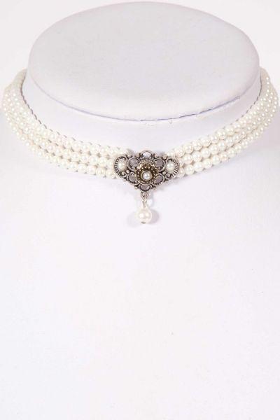 Trachtenkette aus Perlen als Kropfband