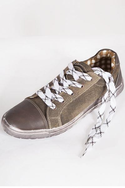 Trachten Schuhe Kalle für Herren in braun antik holz