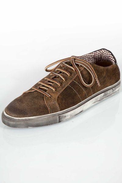 Trachten Sneaker für Herren Hiasl in eiche