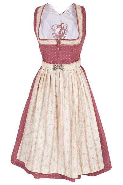 Traditionelles Midi Dirndl Klingenberg in altosa