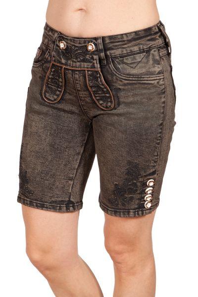 Trachten Jeans Milla für Damen in braun & schwarz