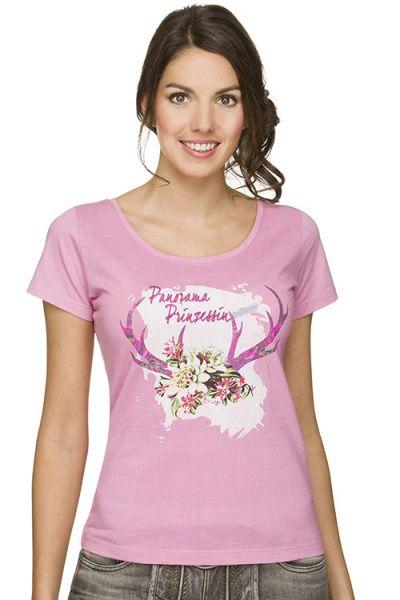 Trachten Shirt Damen Nora von Stockerpoint rosa ganz