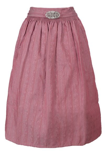 Dirndlschürze in rosa 70 cm