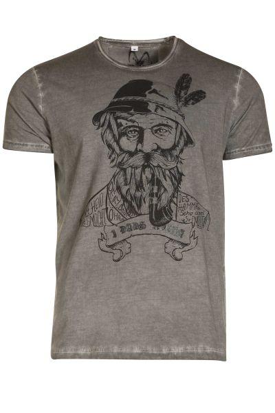 Herren Trachten T-Shirt Kurtl von MarJo
