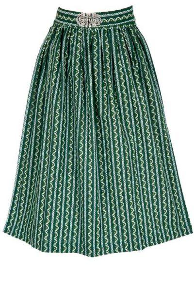 Dirndlschürze tannengrün 70cm im Vintage Design