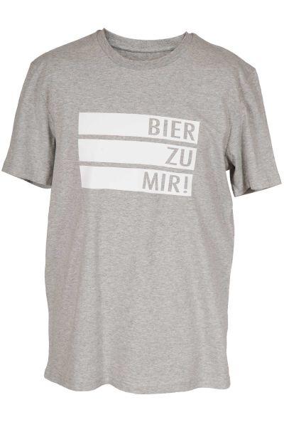 Trachte T-Shirt in hellgrau von vogelwuid