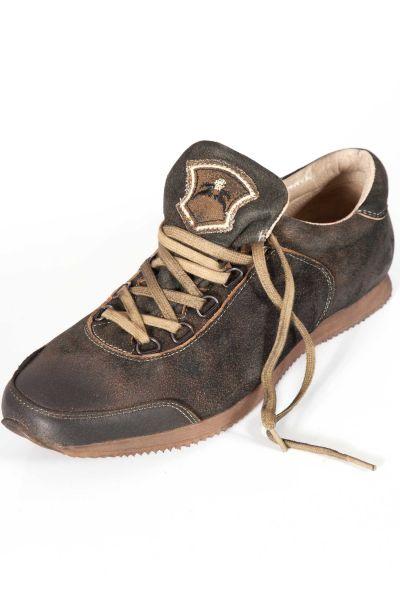 Herren Trachten Sneaker Loffeld in dunkelbraun