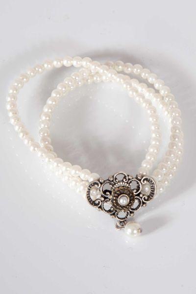Trachten Armband Hedwig Perlen dreireihig
